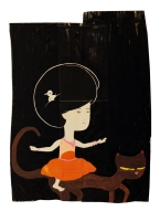 black fro-cat